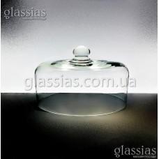 Крышка-купол стеклянная h-180мм,d-310мм.