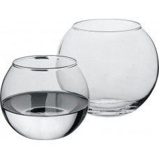 Флора ваза круглая Н-8см Д-10см (набор 1 шт.)